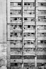LA Tenement (Bokehneer) Tags: tenement apartments building architecture bw monochromatic poor geometric patterns texture