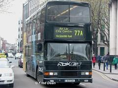 Dublin Bus RA294 (96D294). (Fred Dean Jnr) Tags: april2005 dublin dublinbus busathacliath volvo olympian alexander r collegegreendublin rend dublinbusroute77a ra294 96d294 reebok alloverad