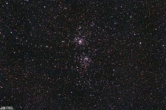Double Cluster - Perseus (PixInsight) (AstroBeard) Tags: astro astrophotography astronomy stars perseus double cluster space skyatnight dorset portland sky skywatcher star adventurer track tracking mount deep stacker stack tamron canon ngc869 h ngc884 x persei pixinsight