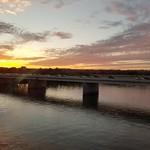 Crossing the Potomac into NoVa at Sunset thumbnail