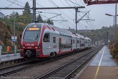 CFL 2313, Troisvierges (cellique) Tags: dubbeldekker cflluxemburg troisvierges 2313 spoorwegen treinen eisenbahn zuge railway train