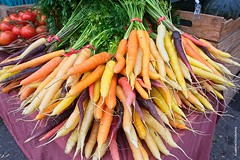 Farmers Market - HSS! (JSB PHOTOGRAPHS) Tags: jsb1310 farmers market eugeneoregon nikon d3 28300mm carrots tomatoes food vegetables sliderssunday hss