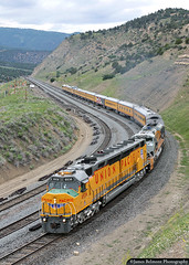 6936 on the Rio Grande (jamesbelmont) Tags: unionpacific dda40x centennial wimmerengineeringspecial wimmer gilluly soldiersummit utah passengerspecial