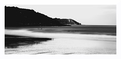"""""""Ghosts In The Shore"""" (The Blue Water Lily's Company) Tags: fdrouet nb bw monochrome poselongue longexposure monochrom ghost nikon d610 plage beach bretagne brittany"""
