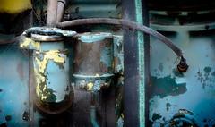 Rust & Cobwebs (jeandelalune) Tags: rust abstract cobwebs machine metal
