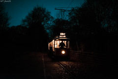 Silhouette (WT_fan06) Tags: california 765 tramcar heaton park tramway museum memorial day night darkness photography nikon d3400 dslr light low manchester uk oldtimer retro vintage atmosphere mood cold contrast silhouette 7dwf flickr coth5 sky blue black