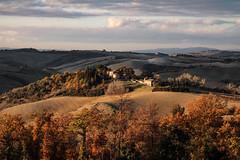 senza titolo (Enzo Ghignoni) Tags: nuvole case colline luce alberi campi tuscany italy