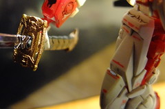 DSCF8044 (bensalzberg) Tags: gunpla gundam astray redframe bandai macro robot
