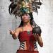 Woman in Mayan Dress - Pisté, Yucatán, Mexico