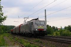 "MRCE/SBBC 189 990 ""Novelis"" am 23.05.2018 mit einem Aluzug in Oberhaun (Eisenbahner101) Tags:"
