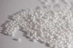 Macro Mondays - White on White (Sharon Meyer) Tags: macromondays whiteonwhite beads crafting crafts flickr macro