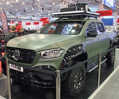 X Class (Schwanzus_Longus) Tags: essen motorshow german germany modern car vehicle pickup pick up truck quad crew cab mercedes benz x class klasse