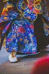 IMG_1630-2 (foretfantome) Tags: tibetan dance costume strasbourg tibet danse noir et blanc foret fantome guillermo gomez 5d mk 3 eglise church ethno bouddhisme