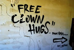 waiting for you (nothinginside) Tags: free clown hugs invitation horror penny wise pennywise it 2018 cirkewwa mellieha malta graffiti murale streetart art street pop urbex decay urban pagliaccio waiting