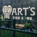 Hart's Dog Park Sign, San Jose, California