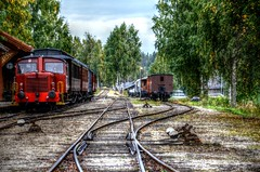 Train Tracks in Norway (Imagery By Antonio) Tags: train railroad locomotive norway