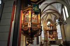 Goslar: Marktkirche (zug55) Tags: goslar niedersachsen deutschland germany lowersaxony unesco welterbe weltkulturerbe unescoworldheritagesite worldheritagesite worldheritage marktkirche marketchurch kirche marktkirchestcosmasunddamian stcosmasunddamian ecclesiaforensis marketchurchstcosmasanddamian church romanisch romanesque gotisch gothic pulpit kanzel