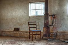 20140621_old_room (petamini_pix) Tags: pointreyes marincounty marin california nationalseashore pierceranch room weythlike hdr old abandoned stove chair empty