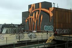 gnt (Luna Park) Tags: ny nyc newyork graffiti rollers texas gane lunapark brooklyn transit mta gnt