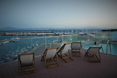 Infinity pool with view to Africa (roomman) Tags: 2018 spain tarifa sea ocean water mediterranean atlantic residence puerto excellent residencia hotel stay accomodation beautiful decoration room very good nice pool roof rooftop africa view panorama infinity marokko maroc