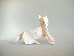 Dog - Kunsulu Jilkishiyeva (Rui.Roda) Tags: origami papiroflexia papierfalten chien perro cachorro cão dog kunsulu jilkishiyeva