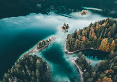 The German Caribbean..... (Tim RT) Tags: tim rt bayern garmisch eibsee lake aerial shot shotondji dji mavic pro drohne drone photography fromwhereidrone wanderlust travel visitbavaria visual inspired createexplore caribbean germany 2018 beautiful destination hypebeast