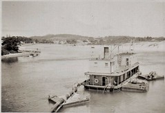 Forster III Dredge (1897 - 1969) in Breckenridge channel (Great Lakes Manning River Shipping NSW) Tags: midnorthcoast shipbuilding glmrsnsw australia forster greatlakesnsw nswgreatlakes capehawkeharbour greatlakesmiscellaneousboats dredge xglmrs forster3xglmrs photo6355913885 dredgeforster nsw forsteriii theta
