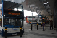 on the Bays (wyedevon) Tags: gloucestershire gloucester bus station city town centre buses outdoors vehicle