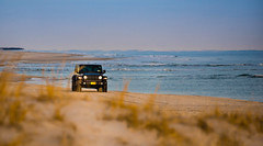 From the Sea? (jgaosb) Tags: jaygao cupsoguebeach ny car shell automobile sunset goldenhour ocean sand jeep