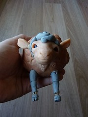 Mêêêtéor the Sheep (Tendres Chimeres) Tags: artistdoll tendreschimeres bjd bjddoll handmadedoll sheepdoll thelittleprince wip