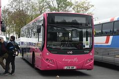 UB 365 @ Showbus 2018 - Donington Park (ianjpoole) Tags: uno buses volvo b8rle mcv evora lf18awp 365 donington park for showbus