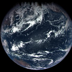 OSIRIS-REx Views the Earth During Flyby (Sabri KARADOĞAN) Tags: nasa nasas marshall space flight center goddard gsfc osirisrex asteroid bennu australia baja california united states