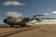 48/52 Tomando el sol / Sunbathing (Vonher) Tags: ejercitodelaire airbusa400 a400 gx80 lumix lumixgx80 panasonic avion aircraft cargo