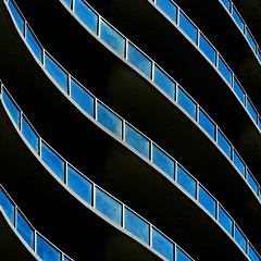 Curving Balconies (2n2907) Tags: abstract architecture balcony balconies glass reflection curved curves olympus omd mirrorless digital