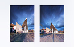 Bright Darkness . . . (Dichtung & Wahrheit (Poetry and Truth)) Tags: architecture art diptych 11