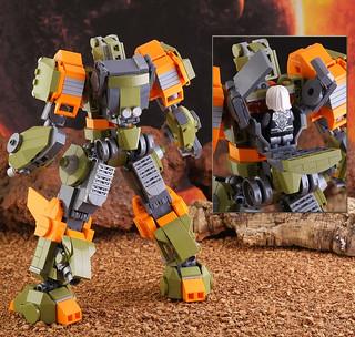 """Lego FA-07 """"Benares"""""""