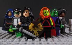 Titans (Post No Justice) (-Metarix-) Tags: lego super hero minifig dc comics comic no justice titans rebirth universe source wall custom