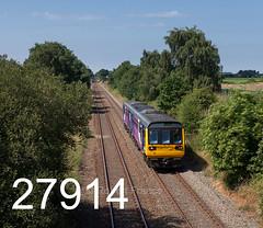 robfrance5d2_27914_070718_x142029_rainford_2j10_nt_edr16lr6coefx4pse15weblowres (RF_1) Tags: 142 142029 2018 arriva brel britain britishrailengineering class142 cumminslt10r db deutschebahn dieselmultipleunit dmu england franchise greatbritain kirkbywigan kirkbytowigan lancashire leyland localtrain localtrains merseyside northern northernengland northernrail pacer passengertrain publictransport railway railways rainford stoppingtrain stoppingtrains train trains transport travel traveling uk unitedkingdom wigankirkby wigantokirkby