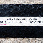 Words on wall by mOsquita [Lyon, France] thumbnail