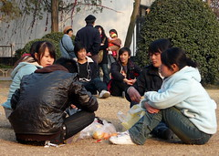 Young Chinese (Wolfgang Bazer) Tags: xiao yao park hefei anhui china chinese chinesen junge young