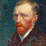 Self-Portrait (1887) by Vincent Van Gogh. Original from the Art Institute of Chicago. Digitally enhanced by rawpixel. thumbnail
