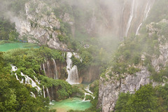 Waterfalls at Plitvice Lakes (Naval S) Tags: lakes croatia plitvice plitvicelakes nature beauty landscape waterfall green unescoworldheritagesite