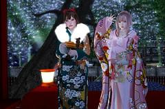 新年あけましておめでとうございます(#^^#) (Miyabi Harucus 1102) Tags: secondlife scene slavatar shrine friend fashion newyear maitreya catwa portrait