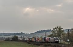 145_2018_10_18_Neukirchen_ES_64_U2_-_029_6182_529_DISPO_TXLOGISTIK_mit_KV ➡️ Bad_Hersfeld (ruhrpott.sprinter) Tags: ruhrpott sprinter deutschland germany allmangne nrw ruhrgebiet gelsenkirchen lokomotive locomotives eisenbahn railroad rail zug train reisezug passenger güter cargo freight fret neukirchen haunetal atlu boxx db dispomrce ebs eloc erd evb hctor ige mgw öbb rhc rpool sbbc ses sgl wlc wwl gysevcargo willke 0119 0427 0628 0928 1016 1203 1225 1232 1293 4482 5170 6101 6114 6115 6120 6145 6152 6155 6182 6185 6187 6189 6193 9124 9425 graffiti