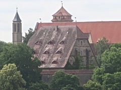 burggarten (Micheline Canal) Tags: allemagne bavière maison église fleur sculpture