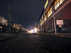 7 - follow the light... (w3inc / Bill) Tags: w3inc nikon aw130 night railroadtracks steelmill coatesville chestercounty 365 2019