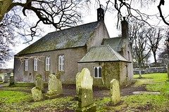 Kirkton Of Logie Buchan - Aberdeen Scotland - 04/01/2019 (DanoAberdeen) Tags: logiebuchan 2019 danoaberdeen candid amateur buchan countryside outdoors walk scotland bluesky nature historicscotland scotch nikond750 ellon ythanriver hiking hiddenscotland highlands bonnyscotland bonnie scottishhistory auchmacoy church parish graveyard cemetery headstone winter autumn spring summer history museum gordondistrict tree