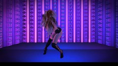 MOVE ! Animations Cologne SOPHIE VOL3 BENTO ♥ (Kiramalien) Tags: maitreya catwa analog dog hair skin fashionnatic dress heels boots pure poison fameshed move dance animations second life 3d world virtuell avatar girl woman