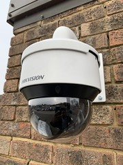 "Hikvision IP PTZ CCTV Camera installed in Andover, Hampshire. • <a style=""font-size:0.8em;"" href=""http://www.flickr.com/photos/161212411@N07/46869274322/"" target=""_blank"">View on Flickr</a>"