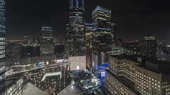 WTC Night Pan TL 020219 UHD with music (Michael.Lee.Pics.NYC) Tags: newyork wtc worldtradecenter oculus aerial hotelview milleniumhilton millenniumhilton brookfieldplace hudsonriver jerseycity timelapse curtainwall glass windows sony a7rm2 voigtlanderheliar15mmf45 syrpgenie2 panning